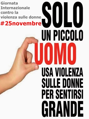 25 NOVEMBRE: GIORNATA INTERNAZIONALE CONTRO LA VIOLENZA SULLE DONNE – LE  INIZIATIVE DEL COMUNE