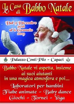 Casa Babbo Natale 2019.Natale 2018 La Casa Di Babbo Natale